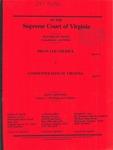 Brian Lee Cherrix v. Commonwealth of Virginia