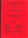 Shantel D. Pender v. Ronald J. Angelone, Director, Virginia Department of Corrections