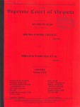 Brenda Lowery Gravitt v. Phillip D. Ward, M.D., et al.