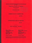 Robert Stacy Yarbough v. Commonwealth of Virginia