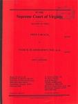 Fred S. Black v. Mark R. Bladergroen, M. D., et al.
