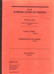 David J. Harris v. Commonwealth of Virginia