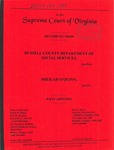 Russell County Department of Social Services v. Sheilah Jackson O'Quinn