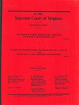 Riverview Farm Associates Virginia General Partnership, et al. v. Board of Supervisors of Charles City County and Weanack Land Limited Partnership