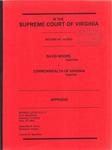 David Allen Moore v. Commonwealth of Virginia