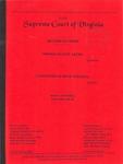 Thomas Wayne Akers v. Commonwealth of Virginia