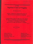 Mary L. Whitley, Administrator of the Estate of Joseph H. Jenkins, deceased v. Commonwealth of Virginia,  Jorge Ibarra, M.D., Katherine McWaters, Esther Cochran, Catherine Couther, Frances Clark, and Monica Cassidy