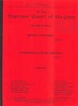 Irvin E. Coleman v. Commonwealth of Virginia