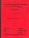 Adrian Darryl Ward v. Commonwealth of Virginia
