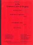 Barbara O. Carraway v. Elizabeth S. Hill