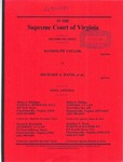 Randolph Taylor v. Richard A. Davis, et al.
