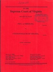 Paul A. Friedline v. Commonwealth of Virginia