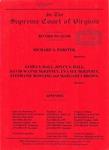 Richard A. Forster v. James S. Hall, Joyce S. Hall, David Wayne McKinney, Eva Sue McKinney, Stephanie Bowling and Margaret Brown