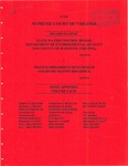 State Water Control Board, Department of Environmental Quality and County of Hanover, Virginia  v.  Frances Broaddus Crutchfield and Henry Ruffin Broaddus