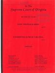 Leon Thomas Harris v. Commonwealth of Virginia