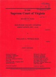 Dogwood Valley Citizens Association, Inc., et al. v. William A. Winkelman