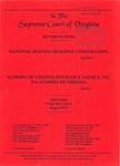 National Housing Building Corporation v. Acordia of Virginia Insurance Agency, Inc., t/a Acordia of Virginia