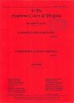 Lawrence Kevin Blevins v. Commonwealth of Virginia