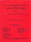 Teresa Wilson Bean Lewis v. Commonwealth of Virginia
