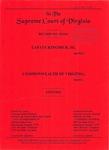 Lafate Kingsbur, III v. Commonwealth of Virginia