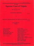 Walter H. Horner v. Virginia Department of Mental Health, Mental Retardation and Substance Abuse Services, Western State Hospital