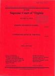 Joseph Tilghman Daniel v. Commonwealth of Virginia