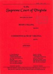 Deion Collins v. Commonwealth of Virginia