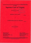 Pernell Lee Viney v. Commonwealth of Virginia