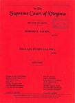 Robert E. Safrin v. Travaini Pumps USA, Inc.