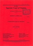 Rodney L. Dixon, Jr. v. Commonwealth of Virginia